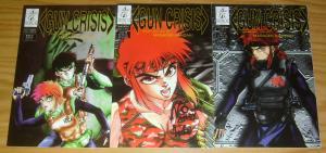 Gun Crisis #1-3 VF/NM complete series - ironcat comics - masaomi kanzaki set 2