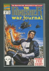 Punisher War Journal #32  / 9.4  NM /  July  1991