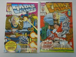 Cable Blood and Metal set #1+2 NM (1992)