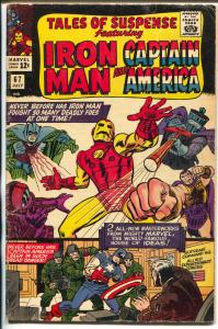 Tales of Suspense #67 1965-Marvel-Iron Man-Captain America-Hitler-Jack Kirby-VG