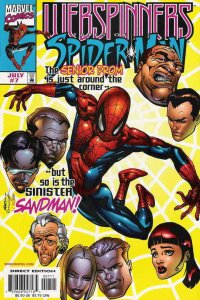 Webspinners: Tales of Spider-Man #7 VF/NM; Marvel   we combine shipping