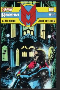 MIRACLEMAN #14-1986-ECLIPSE-COPPER AGE-NICE COPY-HIGH GRADE-NM
