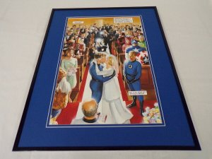 Marvels #2 Fantastic Four Wedding Framed 16x20 Cover Poster Display Alex Ross