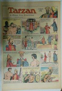 Tarzan Sunday Page #383 Burne Hogarth from 7/10/1938 Very Rare! Full Page Size