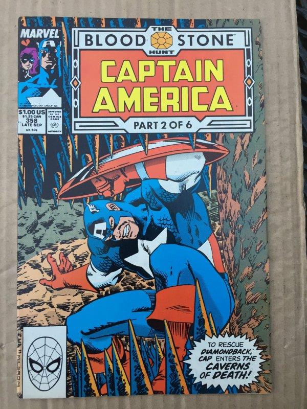 Captain America #358 (1989)