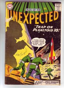 Tales of the Unexpected #41 (Sep-59) VG/FN+ Mid-Grade Space Ranger, Cyrl