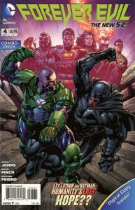 Forever Evil #4E VF/NM; DC | save on shipping - details inside