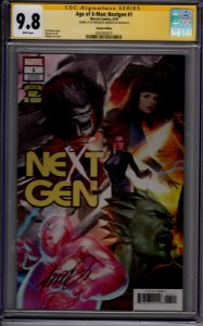 Age of X-Man: Nextgen #1! Lee Variant Cover! CGC SS 9.8! Sigs by Brisson & To!