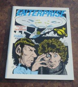 1984 Enterprise #1 VF Magazine The Doctor and the Enterprise Star Trek Dr Who