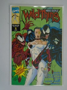 Wildthing #1 featurng Venom and Carnage NM (1993 Marvel UK)