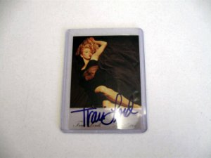 Traci Lords Autographed Card timem Free Shipping!