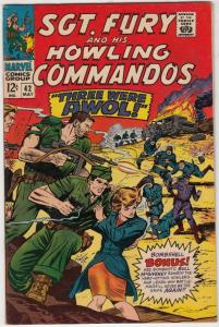 Sgt. Fury and His Howling Commandos #42 (May-67) VF/NM High-Grade Sgt. Fury, ...