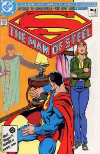 MAN OF STEEL 1-6 COMPLETE  JOHN BYRNE both covers