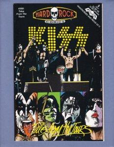 Hard Rock Comics #5 NM-/NM Kiss Revolutionary 1992