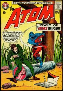 The Atom #14 1964- Gil Kane art- DC Silver Age FN+