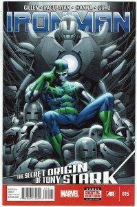 Iron Man #15 (2013 v5) Greg Land Cover NM