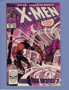 X-Men #247 VG Marc Silvestri Chris Claremont