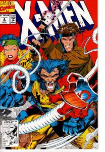 X MEN #4 1ST OMEGA RED NEAR MINT $6.50