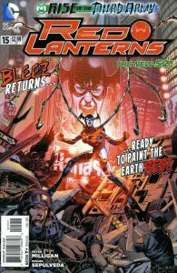 Red Lanterns #15 VF/NM; DC | save on shipping - details inside