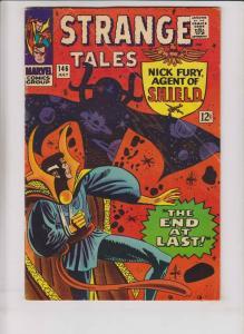 Strange Tales #146 VG nick fury - 1st appearance of A.I.M. - doctor strange 1966