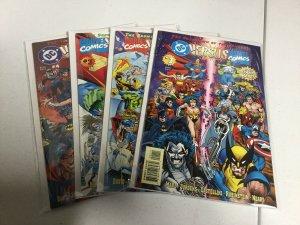 DC Versus Marvel 1-4 Nm Near Mint Direct Edition