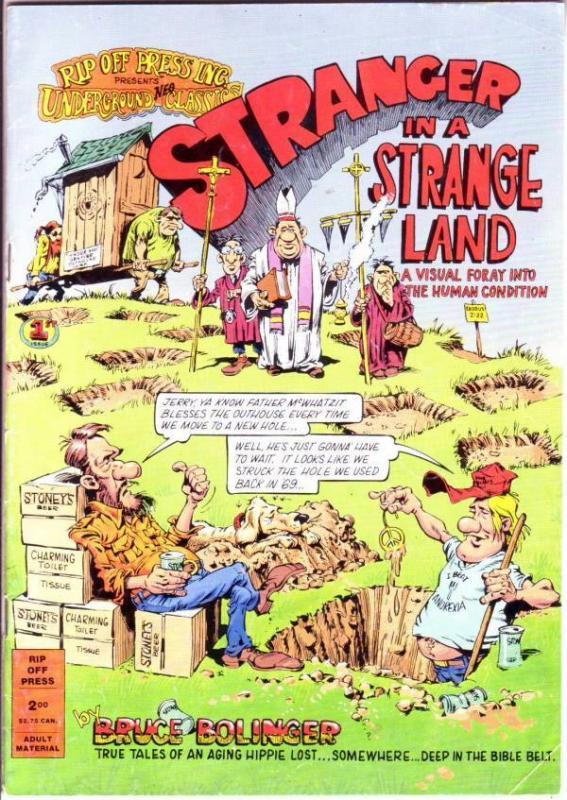 Stanger In A Strange Land #1 (Jan-89) FN+ Mid-Grade Stranger In A Strange Land