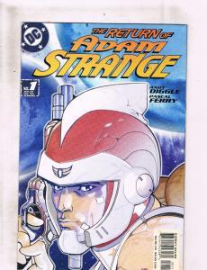 Lot of 3 The Return of Adam Strange DC Comic Books #1 2 3MS19