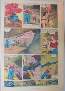 Brick Bradford Sunday by Ritt and Gray from 7/15/1939 Tabloid Size Page! Rare!
