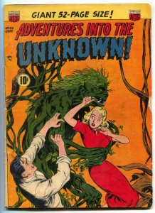 Adventures Into The Unknown #32 1952- Crawling Corpse VG+
