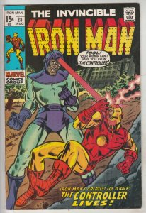 Iron Man #28 (Aug-70) NM- High-Grade Iron Man
