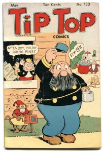 Tip Top Comics #130 1947- Monkey Grinder cover FN