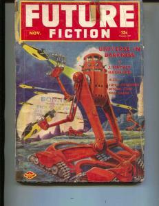 Future Fiction-Pulp-Nov/1940-D.J. Foster-John Coleridge