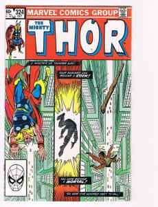 The Mighty Thor # 324 Marvel Comic Books Awesome Issue Modern Age WOW!!!!!!! S27