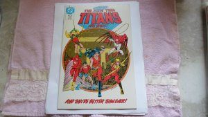 1986 DC COMICS THE NEW TEEN TITANS # 20