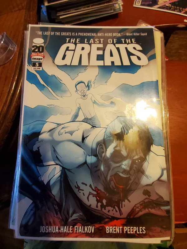 The Last of the Greats #5 (2012)