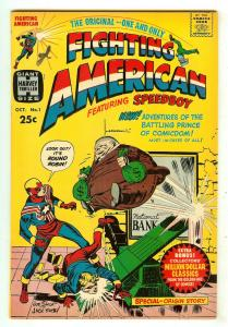 Fighting American 1   Origin Fighting American & Speedboy   Neal Adams