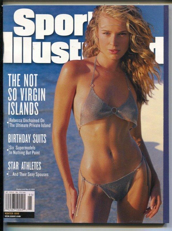 Sports Illustrated Swimsuit Issue Winter 1999-Rebbecca Romijn Stamos-spicy pix-V