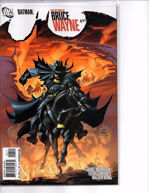 DC Comics Batman: The Return of Bruce Wayne #4 Morrison Vandal Savage Jonah Hex