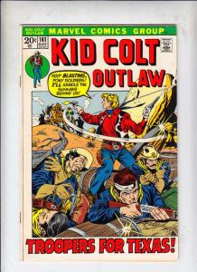 Kid Colt Outlaw #161 (Aug-72) FN/VF Mid-High-Grade Kid Colt