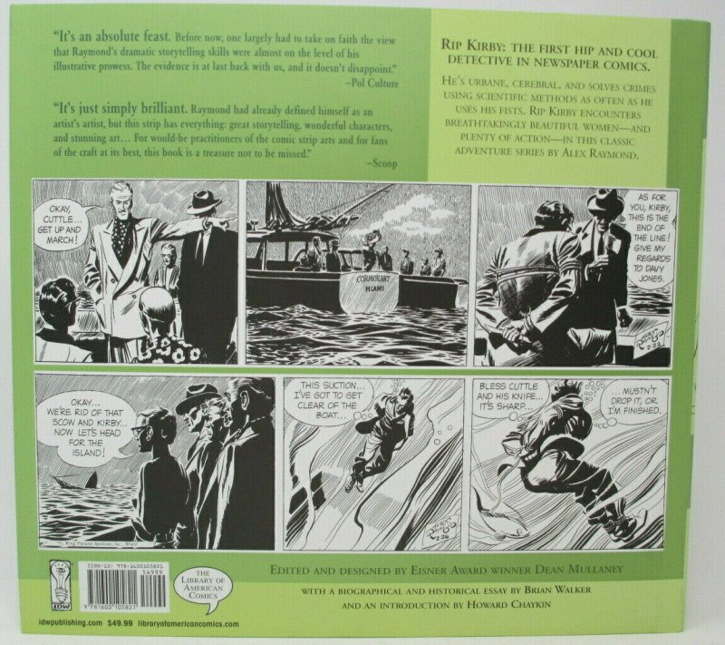 Rip Kirby The First Modern Detective 1948-1951 Volume 2 IDW