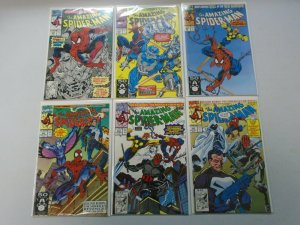 Amazing Spider-Man Comic Lot From #350-399 33 Different Average 8.0 VF (1991-95)