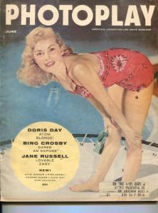 Photoplay-Janet Leigh-Marlon Brando-Kirk Douglas-Mitzi Gaynor -June-1955