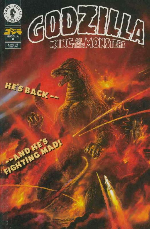 Godzilla (Dark Horse) #0 VF; Dark Horse | save on shipping - details inside