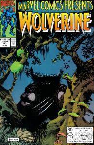 Marvel Comics Presents (1988 series) #91, NM- (Stock photo)
