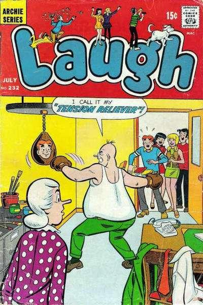 Laugh Comics #232, Fine- (Stock photo)