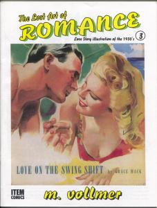 Lost Art of Romance #3 1999-reprints romance pulps art-limited print