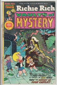 Richie Rich Vault Of Mystery #6 (Sep-75) VG Affordable-Grade Richie Rich