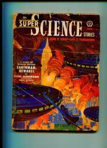 SUPER SCIENCE STORIES JUNE 1951-POPULAR PUBLISHING-JOHN D. MACDONALD-G