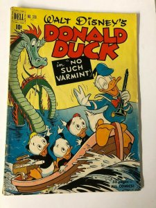 DONALD DUCK F.C. 318 March 1951 No Such Varmint GOOD+ CARL BARKS