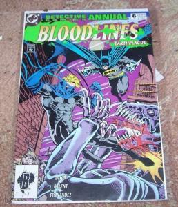 DETECTIVE COMICS ANNUAL # 6 1993  BATMAN AZAREAL EARTH PLAGUE ROBIN